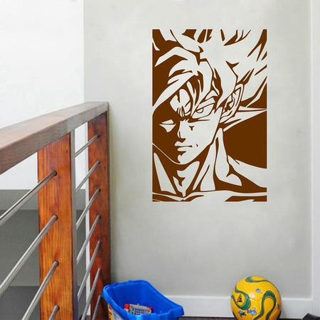 Sticker Mural Dragon Ball Goku Super Saiyan