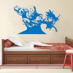 Sticker Mural Dragon Ball Piccolo Daimao vs Goku