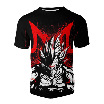 T-shirt Dragon ball z </br> majin vegeta