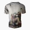 T-shirt Dragon ball z </br> bulma vegeta