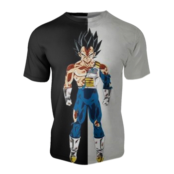T-shirt Dragon ball z </br> Vegeta Full Power