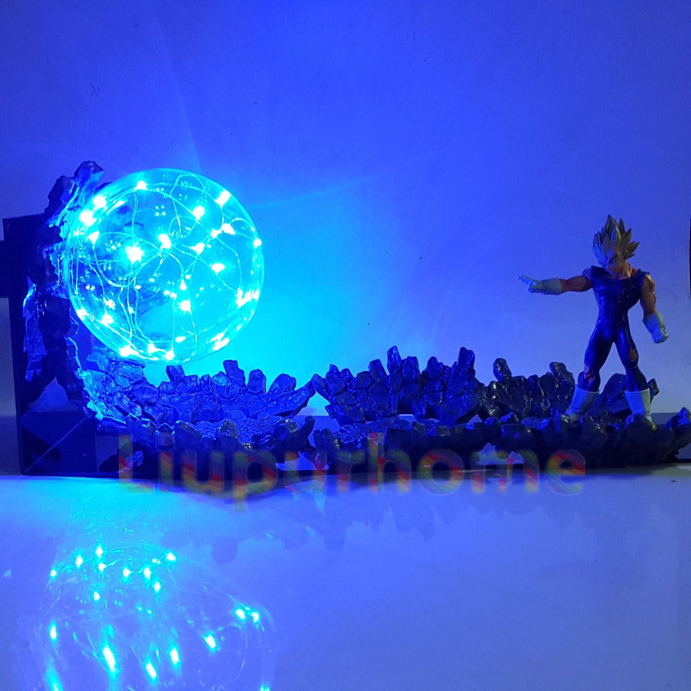 Lampe Dragon Ball z <br/> Majin Vegeta