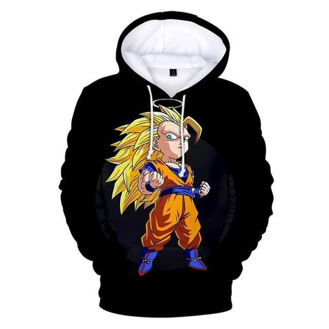 Sweat Dragon Ball Goku SSJ3