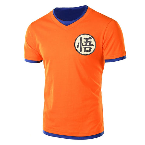 T-shirt Dragon ball z </br> orange