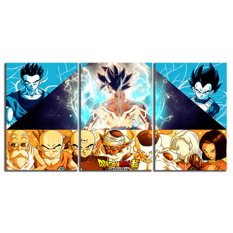 Tableau Dragon Ball Z Univers 7