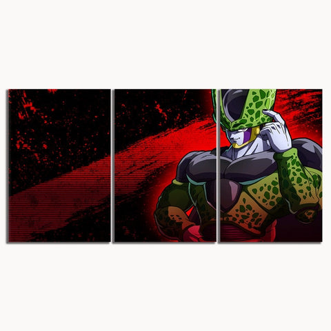 Tableau Dragon Ball Z Cell Forme Parfaite