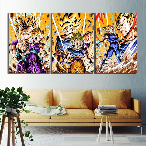 Tableau Dragon Ball Z Force Saiyan