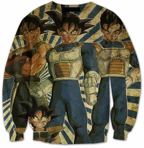 Pull Dragon Ball z <br/> Origine Saiyan