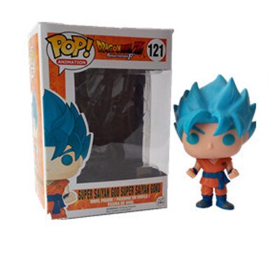 figurine pop dragon ball goku blue