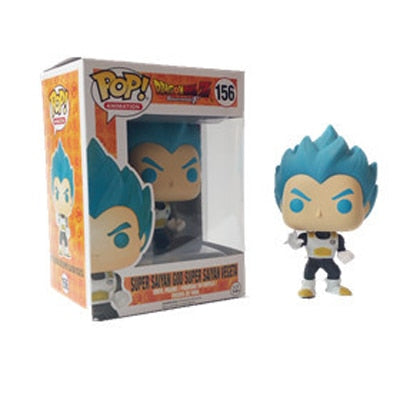 figurine pop dragon ball vegeta blue