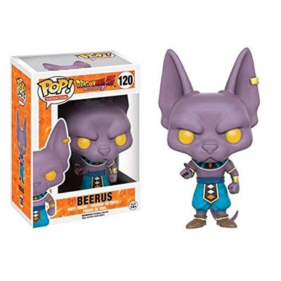 figurine pop dragon ball beerus