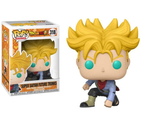 figurine pop dragon ball trunks du futur
