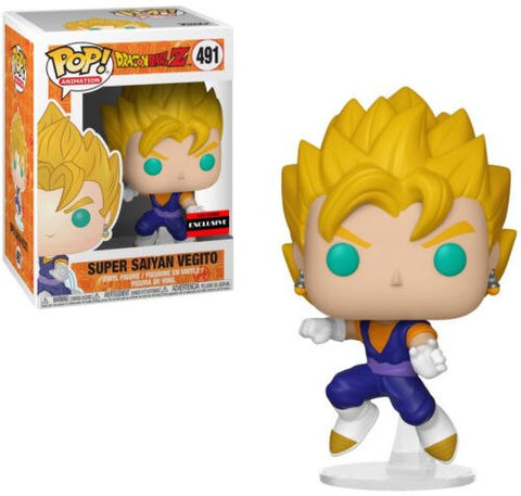 figurine pop dragon ball vegeto super saiyan