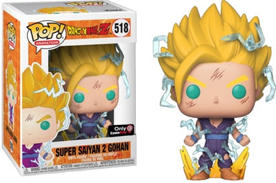 figurine pop dragon ball gohan ssj2