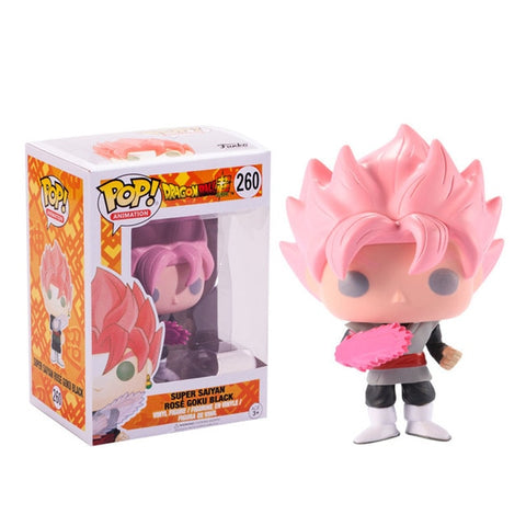 figurine pop dragon ball black goku rose
