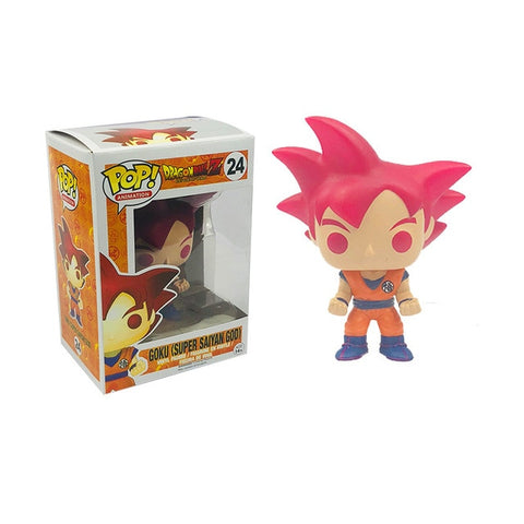 figurine pop dragon ball son goku god