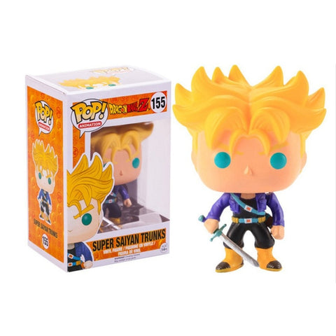 figurine pop dragon ball trunks super saiyan