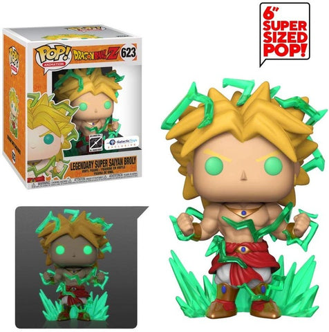 figurine pop dragon ball broly forme légendaire
