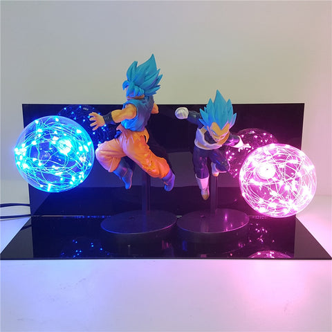 Lampe Dragon Ball z <br/> Goku x Vegeta
