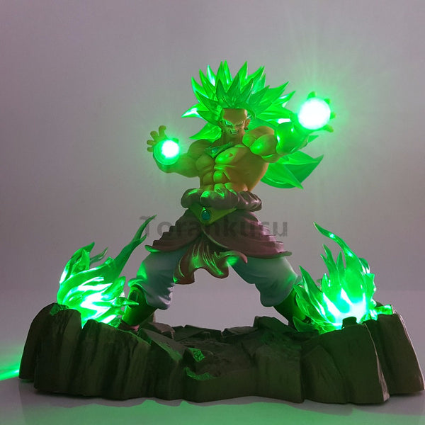 Lampe Dragon Ball z <br/> Broly attaque