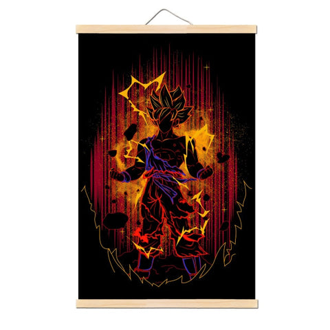 Tableau Dragon Ball Z Son Goku Super Saiyan