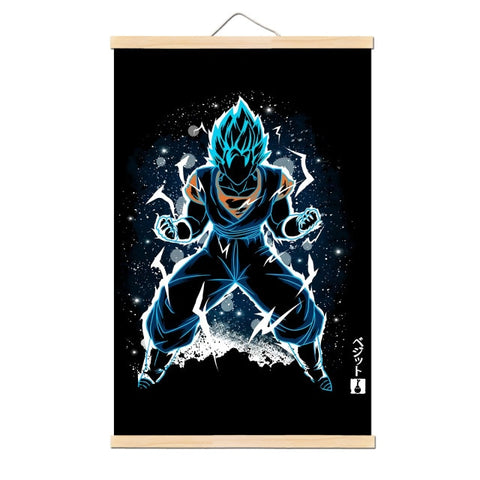 Tableau Dragon Ball Z Vegeto Blue