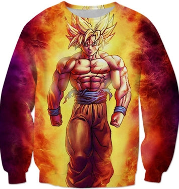 Pull Dragon Ball z <br/>Goku SSJ