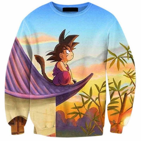 Pull Dragon Ball z <br/> Goku Pensif