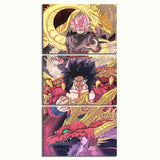 Wall Art Printed Poster Canvas Pictures Home Decor 3 Pcs Anime Dragon Ball Super Paintings Hotel Modular Living Room Framework