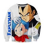 Pull Dragon Ball z <br/> Vegeta & Bulma