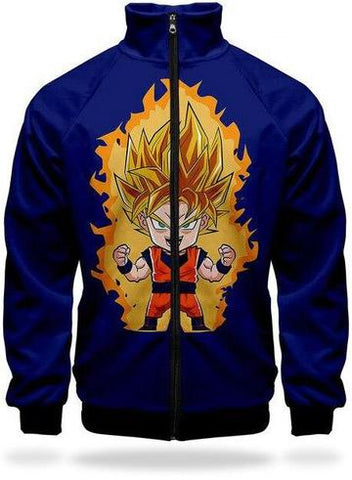 Veste Survetement DBZ Goku SSJ