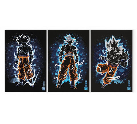 Tableau Dragon Ball Goku Ultra Instinct
