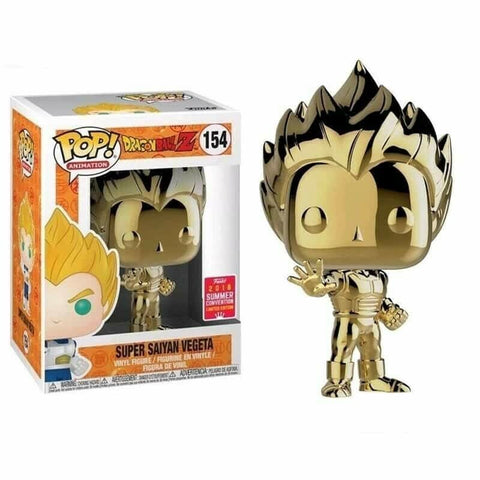 figurine pop dragon ball  vegeta gold