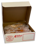 Frozen Hot Italian Sausage 5lb Box