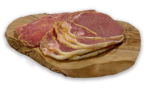 Sliced Peameal Bacon