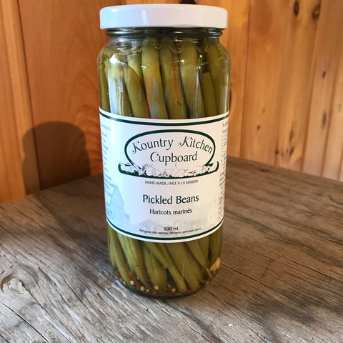 Pickled Beans 500ML