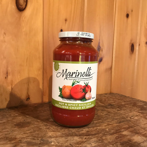 Marinelli Hot & Spicy Sicilian Sauce