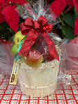 1/4 Peck Fruit Basket with Preserves