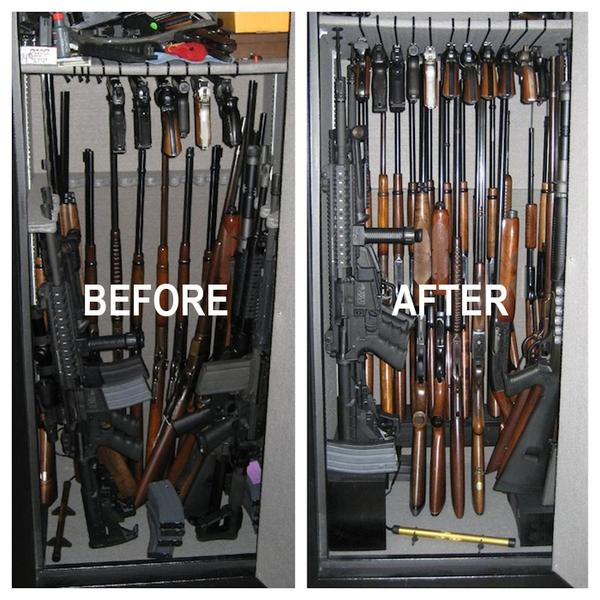 Upgrading Your Gun Rack So You Can Store More Guns