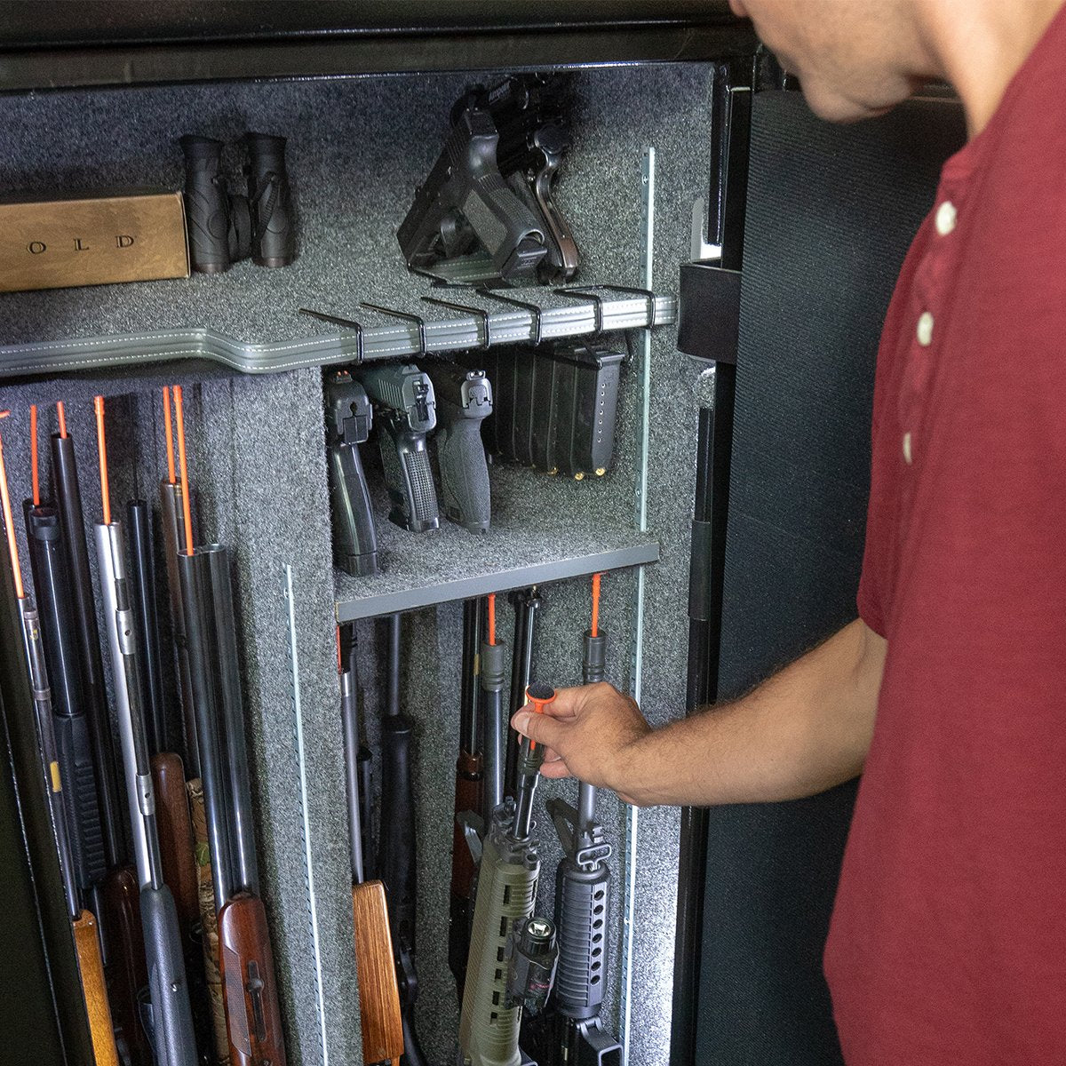 Gun Safe Accessories Optimize The Space In Your Gun Safe
