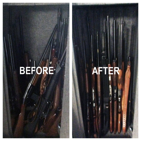 gun safe organization