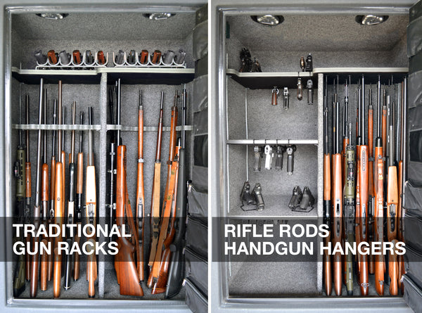 gun rack, gun racks, gun safe, gun safes, gun safe accessories, gun safe accessory, gun storage, gun storage solutions, store more guns