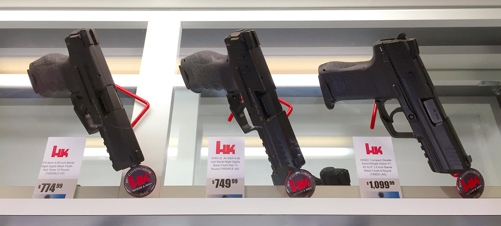 HK Heckler and Koch Branded Kikstands gun display stands