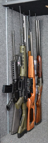Rifle Rods store long guns more efficiently