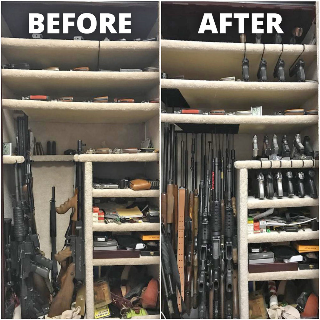 superior gun rack safe