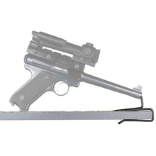 shelf pistol holder