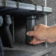 gun safe magazine storage