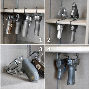gun rack handgun storage