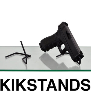 Kikstands gun display stand