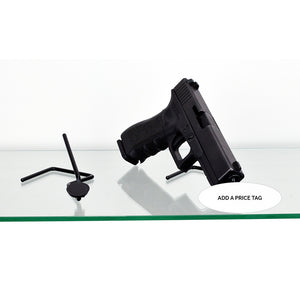 Gun Display Price Tag System